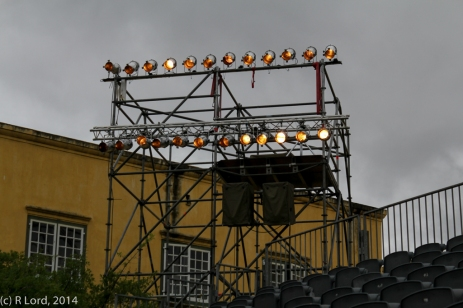 3 Electrical Workshop are testing the lights
