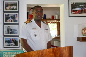 Captain (SAN) Marcus Rammutloa, SSO of the Defence Reserve office at the Castle