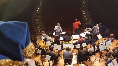 Rehearsals for the Concert
