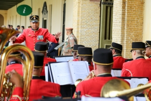 WO2 Jerome Mecloen conducts the SA Army Band Western Cape