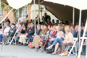 Guests at the Remembrance Day service