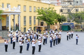 Air Force and Navy Bands combine forces