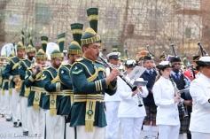 Pakistan Army Band - an unusual uniform!