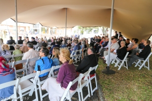 Over 150 guests attend this year's service